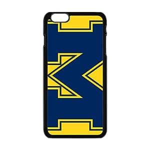 NCAA Michigan Wolverines Alternate 1996 Black Phone Case for iPhone 6plus
