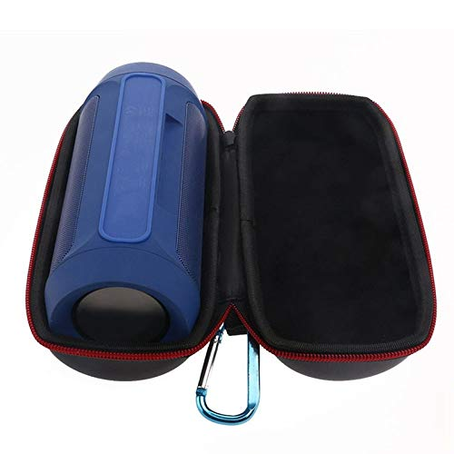 Wireless Bluetooth Speaker Storage Box SODIAL Portable Black Pu Travel Carry Cover Pouch Bag Case for Jbl Charge 2//2 No Column