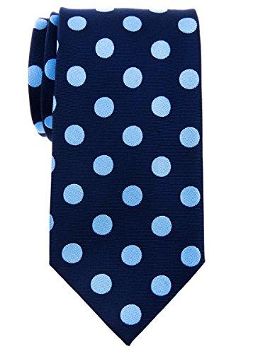Retreez Classy Vintage Polka Dots Woven Microfiber 3.15' Men's Tie Necktie