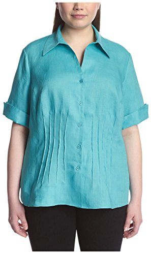 Lafayette 148 New York Plus Women's Sherelle Blouse, Fiji 14W from Lafayette 148 New York Plus