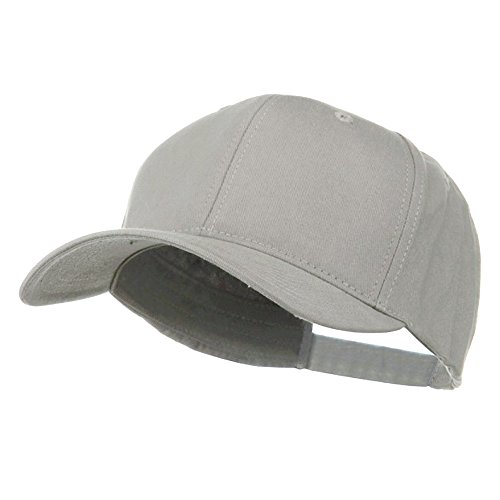 New Big Size Deluxe Cotton Cap - Cool Grey (for Big ()
