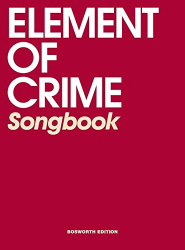 element-of-crime-songbook