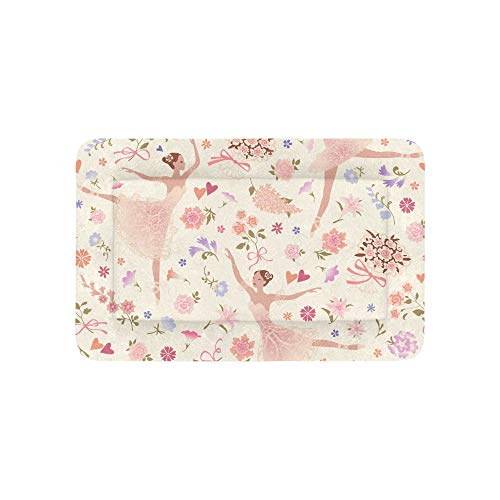 Chawzie Dancing Ballerinas with Pink Glorious Rose Flower Extra Large Bedding Soft Pet Dog Beds Couch for Puppy and Cats Furniture Mat Cave Pad Cover Cushion Indoor Gift Supplier 36 ()