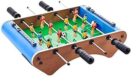 YUHT Futbolín Infantil,Juegos de Mesa Tabla de Fútbol Sala Fútbol Mesa de Juego for Adultos Sala de niños Deportes Juego de fútbol Juego de Mesa Divertido Juego (tamaño : 36.3x26x10.5cm): Amazon.es: Deportes