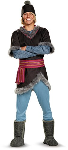 Frozen Costumes Adult (Disguise Men's Frozen Kristoff Costume, Multi,)