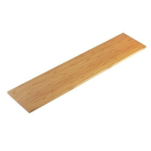 Cal-Mil Bamboo Wood Shelf Riser -32inch L x 7inch W x 1/4inch H by Cal Mil