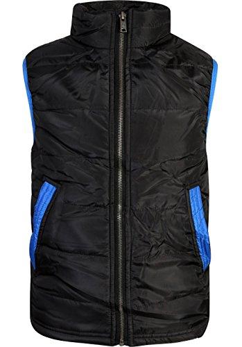 p.s. from aeropostale Boys Pongee Puffer Vest Jacket, Black, Size 8