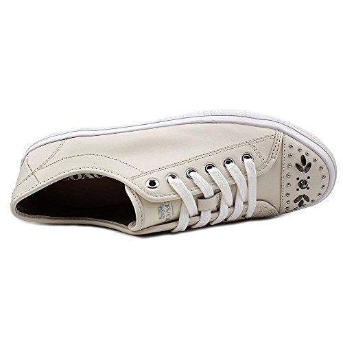 Coach Dames Elle Lage Top Vetersluiting Mode Sneakers Krijt / Krijt