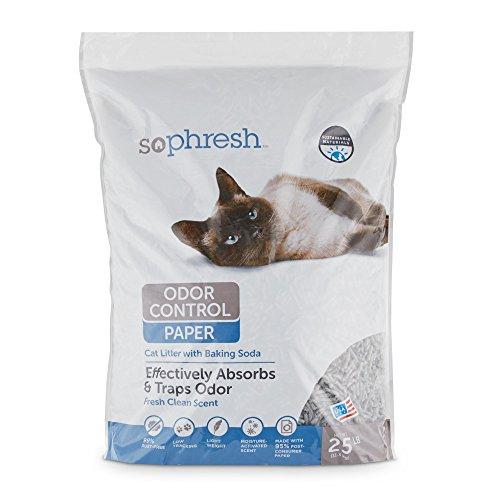 (So Phresh Odor Control Paper Pellet Cat Litter, 25 lbs.)