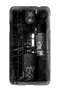 Hot Snap-on Black And White Hard Cover Case/ Protective Case For Galaxy Note 3