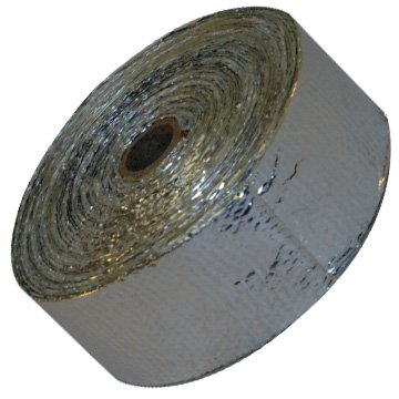 2'' X 33' Aluminized Thermal Wrap for Intake Pipes