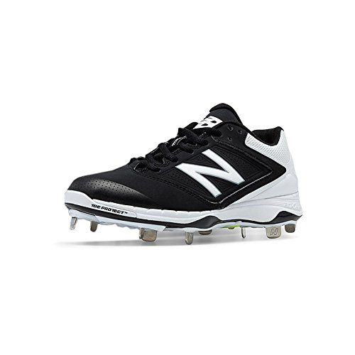 New Balance Low Cut 4040v1 Womens Cushioning Metal Softball Cleat 8.5 Black-White – DiZiSports Store