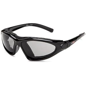 Bobster Road Master Prescription Ready Sunglasses,Black Frame/Photochromic Lens,one size