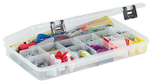 Plano 2371304 ProLatch 3700 Size Stowaway Boxes with 13 Fixed Compartments, Clear (3700 Stowaway Prolatch Plano)