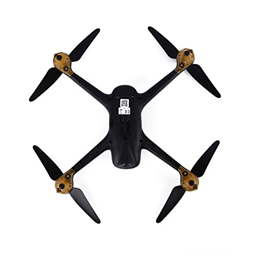 Hubsan-1080P-HD-Camera-Drone-H501S-X4-10CH-58G-FPV-Brushless-GPS-RC-Quadcopter-RTF-Professional-for-Kids-Adults-Birthday-Christmas-New-Year-GiftsWhite-BlackGbell