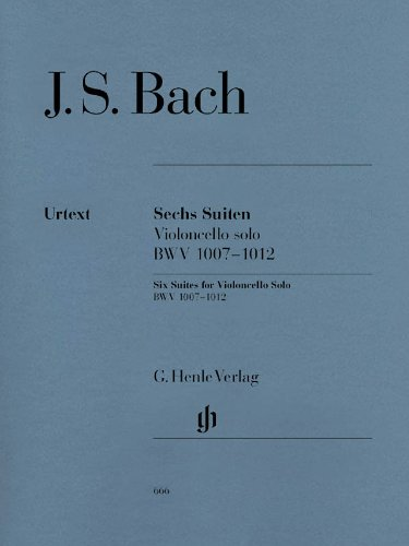 Bach: 6 Cello Suites, BWV 1007-1012 pdf epub