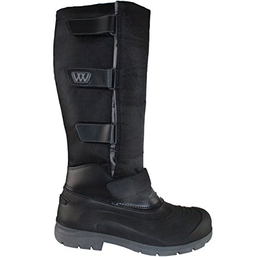 Woof Wear NEW Adult Long Yard Boots Black Black