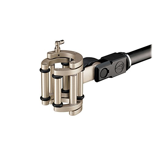 Mount Condenser Microphone Quick Gooseneck (Audio-Technica U857Qlu Unipoint Cardioid Condenser Quick Gooseneck Microphone Mount (AT8482))
