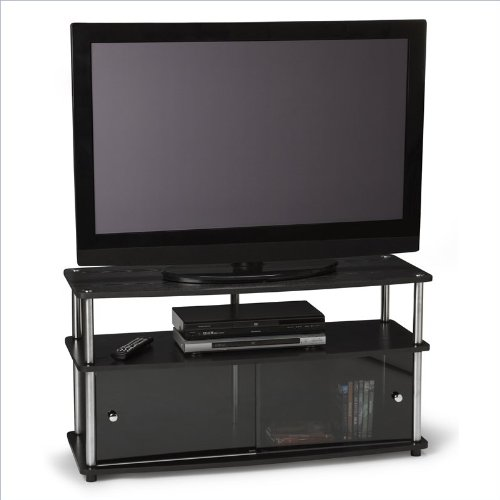 harga Convenience Concepts 70314TV-T Plasma TV Stand for Flat Panel TV's up to 42-Inch or 85-Pounds Hargadunia.com