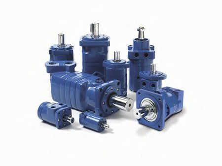 Char-Lynn (Eaton) 101-1695-009 - Hydraulic Gerotor Spool Valve Motor - H-Series 101, 5.9 in³/r Displacement, 585 rpm Continuous, 1368 in-lb Continuous, 1800 psi Continuous, 15 gpm - Series 1695