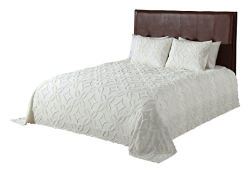 Beatrice Home Fashions 048986712166 Oman Chenille Bedspre...