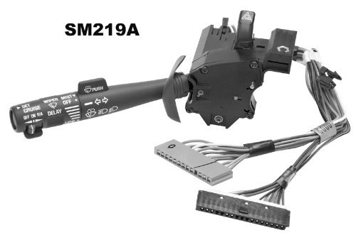 Shee-Mar SM219A Turn Signal - Cruise Control - Headlight - Wiper/Washer - Hi/Low Beam - Hazard Switch **NOTE: Does NOT fit a Blazer Inc.