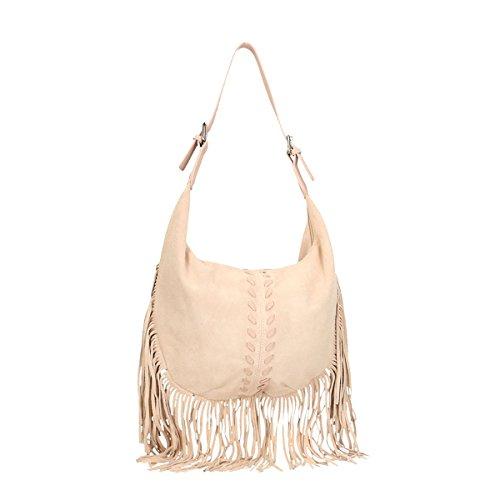 Piel Treat Bags Bolso Genuine 40x27x7 Cm Rosado