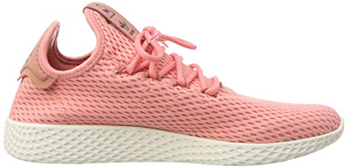 adidas Originals PW Tennis HU Mens Trainers Sneakers (UK 3.5 US 4 EU 36, Pink White BY8715) by adidas (Image #6)