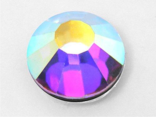 de SS 04/a 40/para Telas y Ornamentos Purpurina Panini Tessuti Strass termoadhesivas Hotfix Deluxe Crystal Transparent- Crystal AB Rhinestones