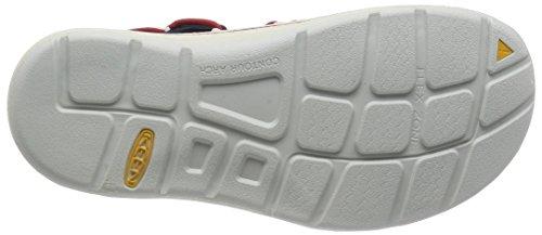 Keen Uneek Slice Fade - Zapatos de Agua Para Mujer, Imán y Jade Húmedo, 9,5 m EE.UU. Total Eclipse/Chili Pepper