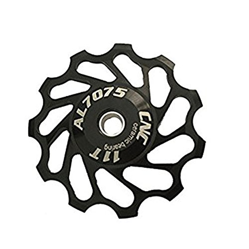 Rear Derailleur Wheel/pulley Parts/Accessories for Joeky Mountain bike and Road Bicycle, Ceramic Bearing, 11T