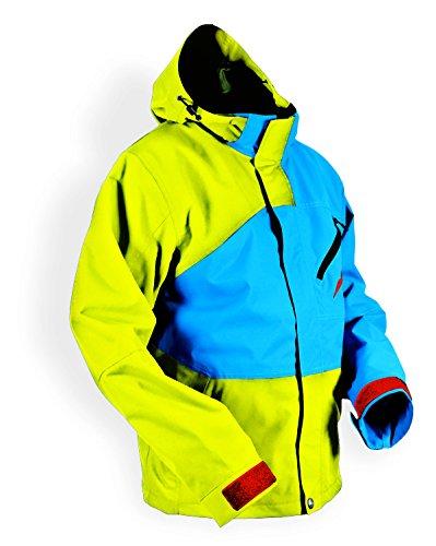 768a287e Amazon.com: HMK Hustler 2 Men's Jacket (Yellow/Blue, X-Small): Automotive