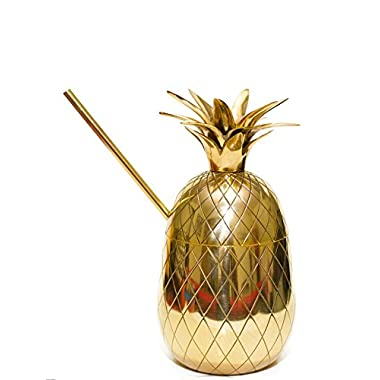 Handcrafted Brass Pineapple Moscow Mule Mug / Cup, 20oz