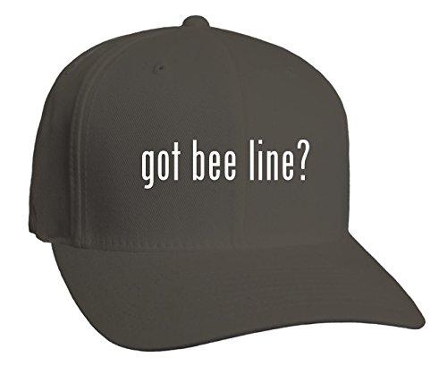 got-bee-line-adult-baseball-hat-dark-grey-large-x-large