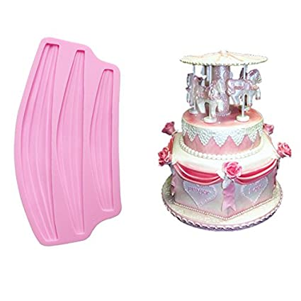 Cake Molds - Classic Swag Cake Border Fondant Molds Chocolate Baking Sugarcraft Decoration 22.1 11.2 1.3