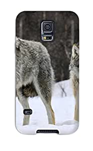 Belva R. Fredette's Shop New Style New Tpu Hard Case Premium Galaxy S5 Skin Case Cover(gray Wolves Norway)