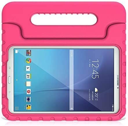 Funda para niños BMOUO para Samsung Galaxy Tab E 9.6 Rosa
