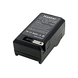 2 Battery , Charger for Sony Handycam DCR-DVD92 NP-FP50