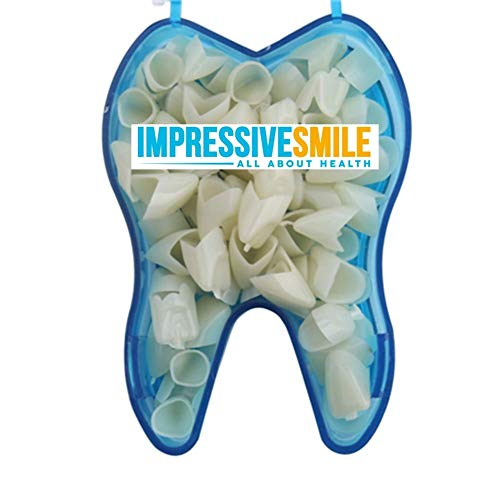 Mixed Sizes Dental Temporary Crown Kit Anteriors Box/50]()