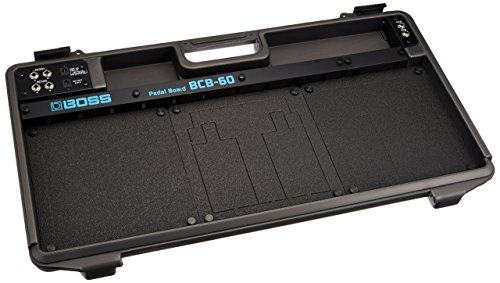 (Boss BCB-60 Deluxe Pedal Board and Case (Renewed))