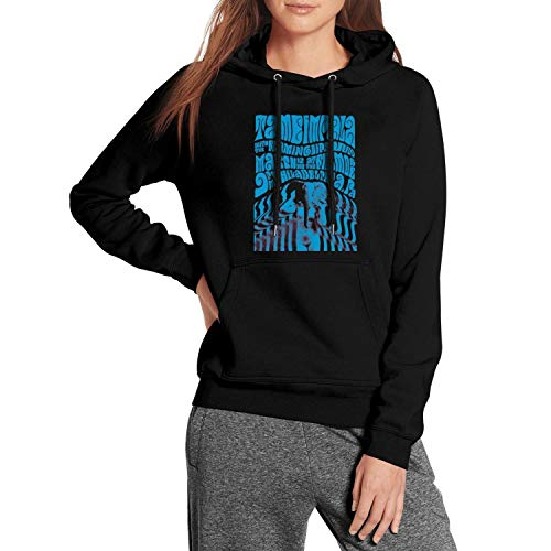 ZYALO Black Girls Tame-Impala-Gig-Poster- Fleece Pullover Hoodie Sweater