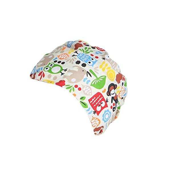 TENDYCOCO 1 Unid Algodón Mono Búho Correa Impresa Sombrero de Trabajo Quirófano Gorro Médico Gorro de Enfermera Sombrero… 4