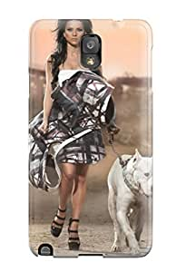 High Quality Case Cover For Galaxy Note 3 Case With Nice For A Walk Appearance