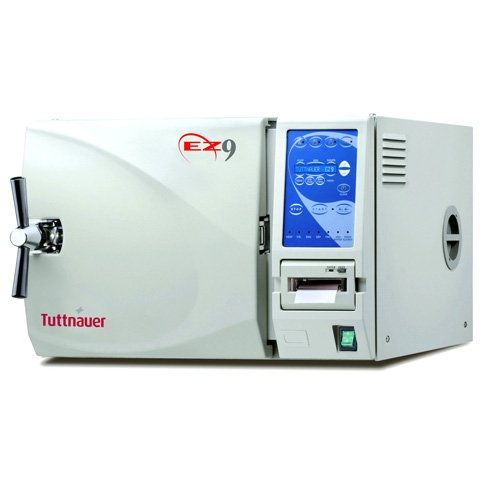 Automatic Autoclave Fully - Tuttnauer USA EZ9 Fully Automatic Autoclave 9 x 18-inch Chamber