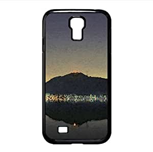 Lakeside Night Watercolor style Cover Samsung Galaxy S4 I9500 Case (Lakes Watercolor style Cover Samsung Galaxy S4 I9500 Case)