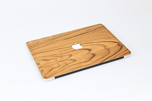 """WOODWE Real Wood Laptop Cover / Skin for Macbook pro 13"""" inch Retina Display 