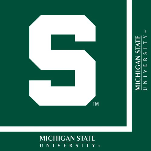(Michigan State Spartans Lunch Napkins,)