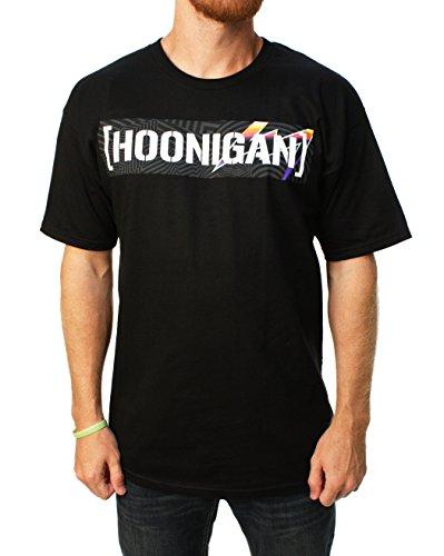 Hoonigan Black Limited Edition Pantone Sensor Bar T-Shirt (L , - Sensor Tee