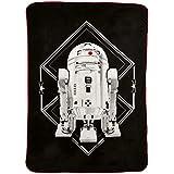 Jay Franco Star Wars Ep 8 Grafix Blanket Gray