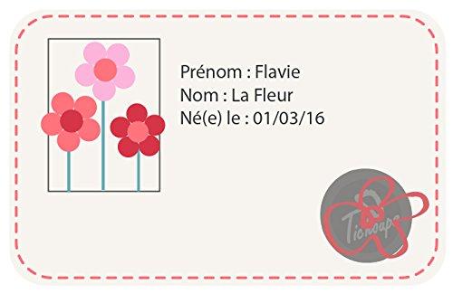 Tichoups Chaussons BÉbÉ Cuir Souple Flavie La Fleur-30/31